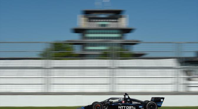 GALERÍA: Jimmie Johnson prueba un IndyCar
