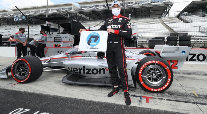 Power consigue cuarta pole en GP de Indy