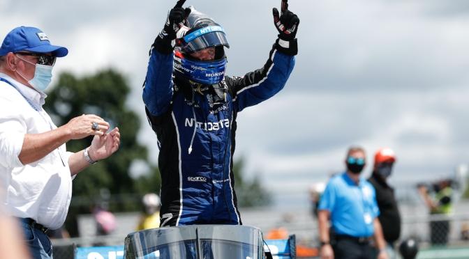 Rosenqvist gana por primera vez en IndyCar