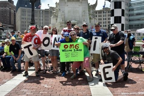 El tradicional desfile de pilotos por la ciudad es uno de los eventos que se canceló para 2020 (FOTO: Gana Garrett/INDYCAR)
