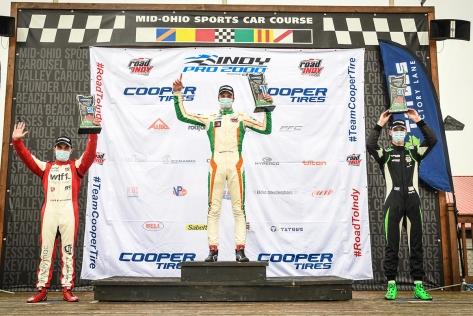 Petrov es el único con victorias múltiples en la Indy Pro 2000 después de 5 fechas (FOTO: Road to Indy)