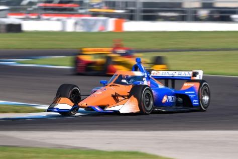 ¿Seguirá el paso imbatible de Dixon? FOTO: James Black/IndyCar