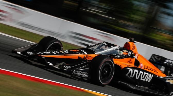O'Ward logra primera pole en IndyCar
