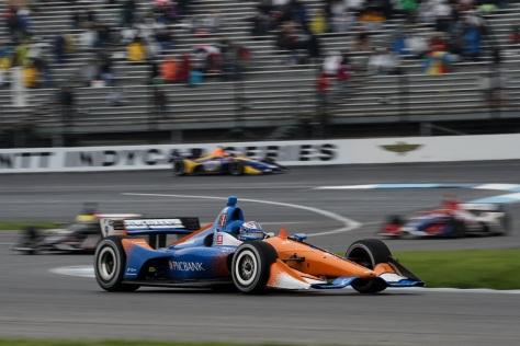 Scott Dixon llega como líder del campeonato, pero nunca ha ganado el GP de Indy (FOTO: Joe Skibinski/INDYCAR)
