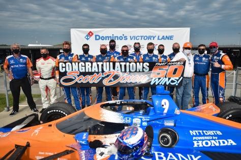 Dixon (FOTO: Chris Owens/IndyCar)