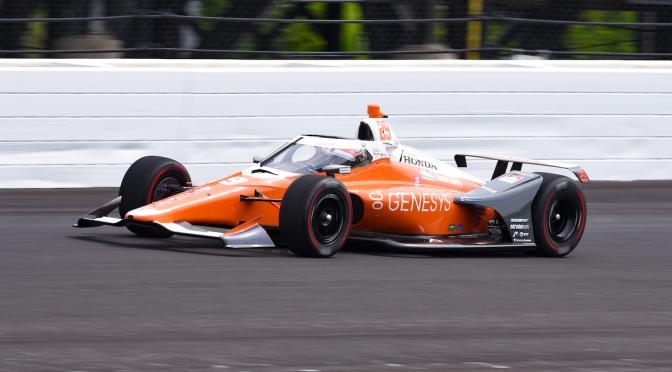 Hinchcliffe lidera Práctica 1 de Indy 500 de 2020