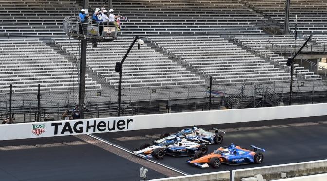 Sato gana la Indy 500 por segunda vez