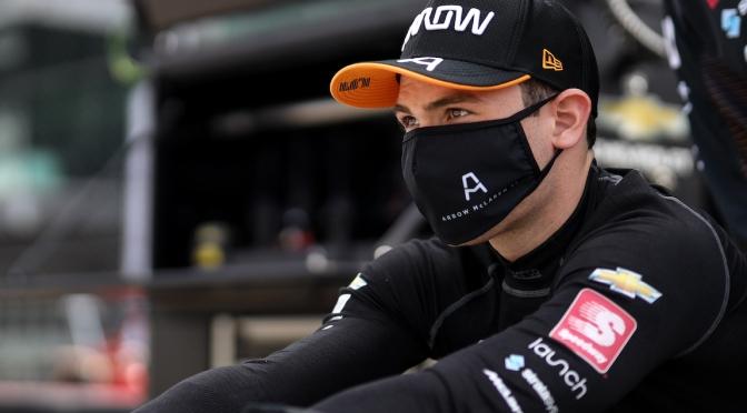 O'Ward, listo para su estreno en Indy 500