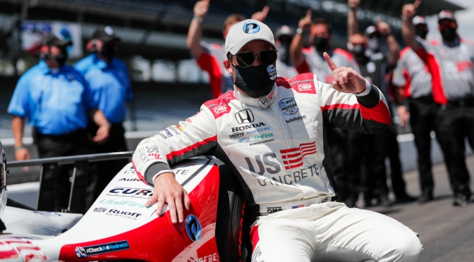 Marco Andretti gana la pole de la Indy 500