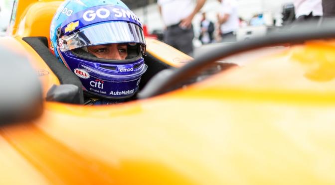 ¿La última aparición de Alonso en Indy?