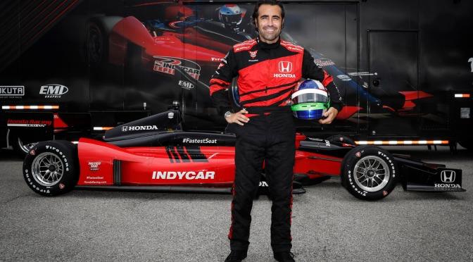 Franchitti manejará el biplaza de IndyCar en Gateway