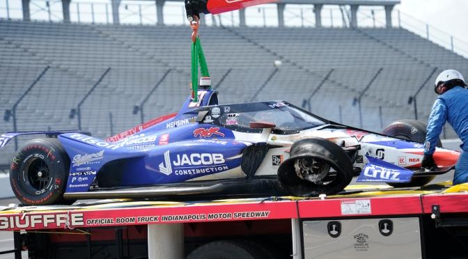 El extraño incidente de Davison en Indy 500