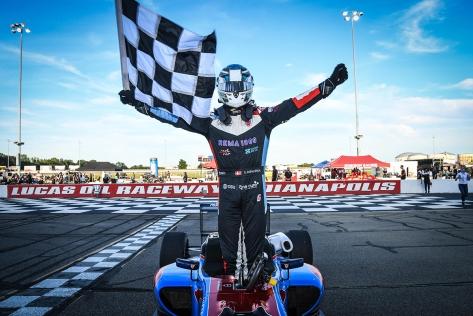 Rasmussen se enfila al título (FOTO: Road to Indy)