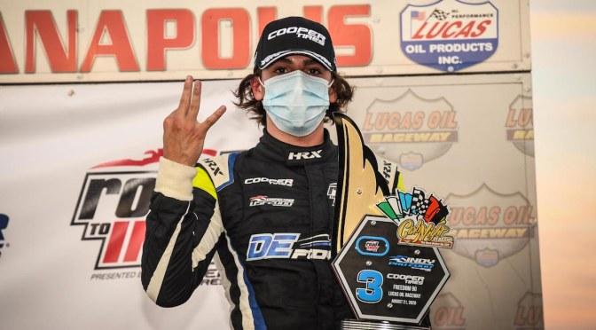 Sulaimán sube al podio en Indy Pro 2000