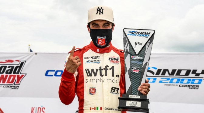 DeFrancesco ((FOTO: Road to Indy)