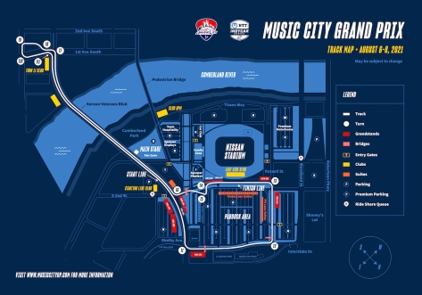 Mapa preliminar (FOTO: Music City Grand Prix)