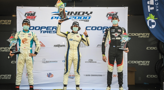 Sulaimán ganó en Indy Pro 2000 (FOTO: Road to Indy)