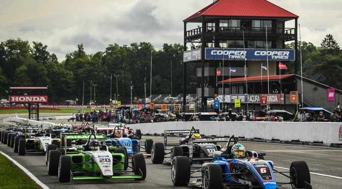 Rasmussen lidera USF2000 (FOTO: Road to Indy)