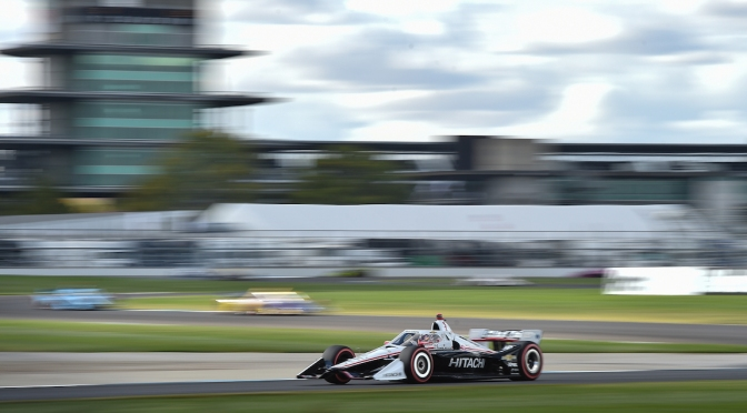 Newgarden gana en Indy; queda a 40 pts de Dixon