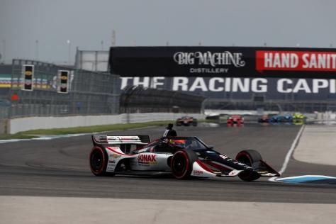 VeeKay lidera grupo de novatos (FOTO: Chris Jones/IndyCar)
