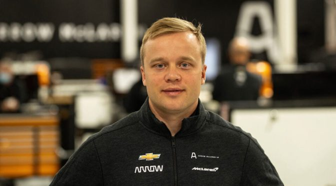 Rosenqvist (FOTO: Arrow McLaren SP)