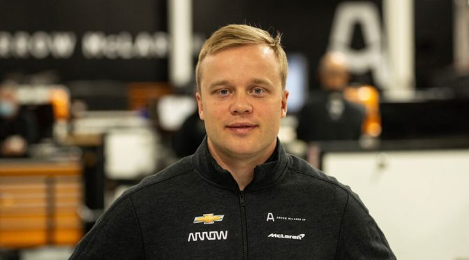 Rosenqvist a ARROW McLaren SP (FOTO: ARROW McLaren SP)