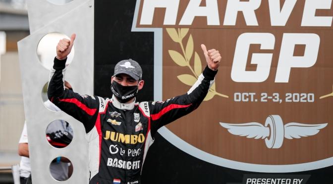 Primer podio de VeeKay en IndyCar