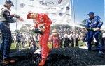 A Castroneves le tomó siete carreras con Penske (46 desde su debut) para ganar su primera carrera en la especialidad de monoplazas de Estados Unidos. Fue en Belle Isle, Detroit, el 18 de junio, tras liderar las últimas 24 vueltas (FOTO: IndyCar)
