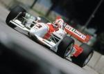 La primera carrera de Castroneves fue el 26 de marzo de 2000, en Homestead, Florida, apertura de CART; sin embargo, su participación duró nueve vueltas por una falla eléctrica (FOTO: Honda)