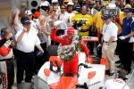 2009 fue un año de vaivenes para Helio, tanto por el conflicto legal que ocurrió meses antes hasta su tercer triunfo en la Indy 500. Concluyó 4º en la general (FOTO: Phillip Abbott/Honda)
