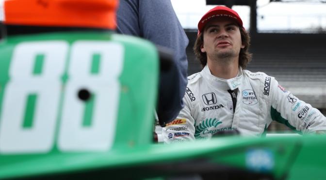 Colton Herta pasa al No. 26 de Andretti