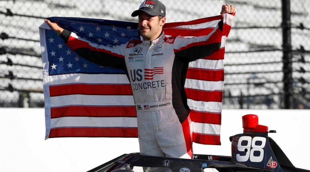 MARCO ANDRETTI SÓLO SE ENFOCARÁ EN INDY 500 EN 2021 (FOTO: Chris Jones/IndyCar)