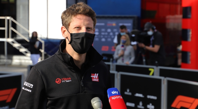 Romain Grosjean (FOTO: Haas F1 Team)