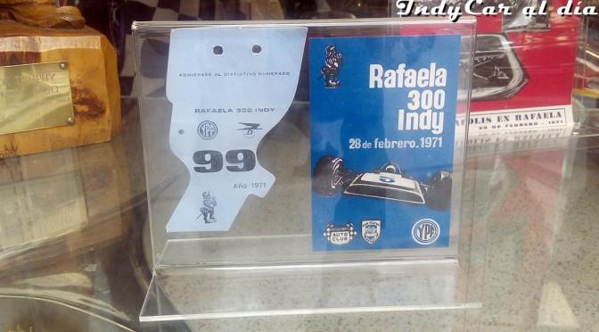 Homenajes a 50 años de la visita de Indy a Argentina