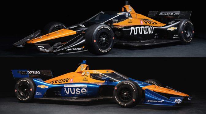 Presentación oficial de ARROW McLaren SP para 2021