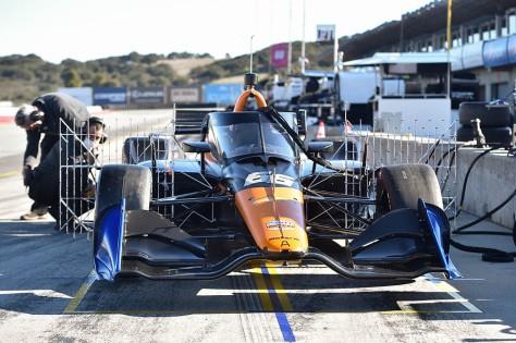 Juan Pablo Montoya, No. 66 Chevrolet de ARROW McLaren SP, en la quinta ronda de pruebas privadas de pretemporada de IndyCar, realizada el 1 de marzo en Laguna Seca (FOTO: Chris Owens/INDYCAR)