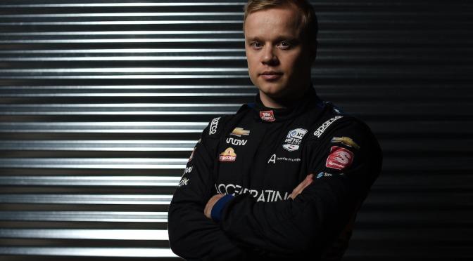 Felix Rosenqvist (FOTO: Chris Owens/INDYCAR)