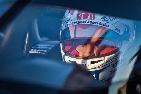 Graham Rahal, No. 15 Honda de Rahal Letterman Lanigan Racing, en la segunda ronda de pruebas privadas de pretemporada de IndyCar, realizada el 19 de enero en Sebring (FOTO: Chris Owens/INDYCAR)
