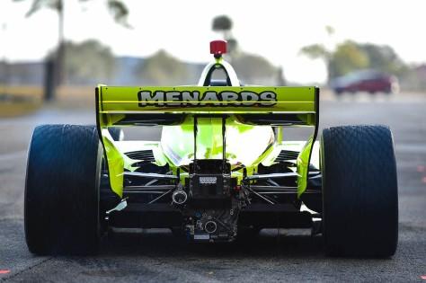 Simon Pagenaud, No. 22 Chevrolet de Team Penske, en la tercera ronda de pruebas privadas de pretemporada de IndyCar, realizada el 1 de febrero en Sebring (FOTO: Chris Owens/INDYCAR)