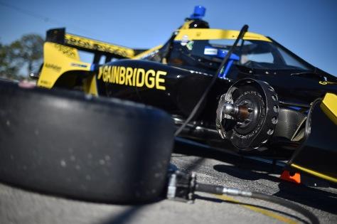 Colton Herta, No. 26 Honda de Andretti Autosport, en la segunda ronda de pruebas privadas de pretemporada de IndyCar, realizada el 19 de enero en Sebring (FOTO: Chris Owens/INDYCAR)