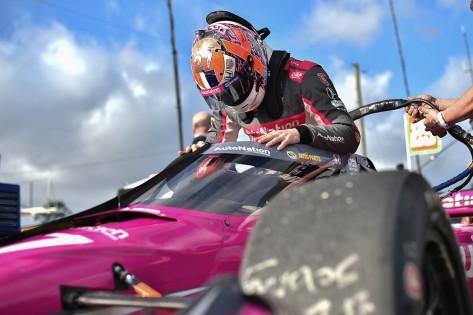 Rossi finalizó 9º en la puntuación de 2020, sin victorias (FOTO: Chris Owens/INDYCAR)