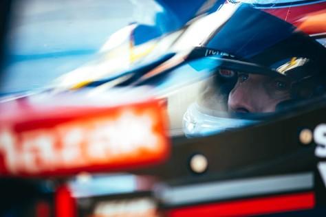 Will Power, No. 12 Chevrolet de Team Penske, en la cuarta ronda de pruebas privadas de pretemporada de IndyCar, realizada el 23 de febrero en Barber (FOTO: Joe Skibinski/INDYCAR)