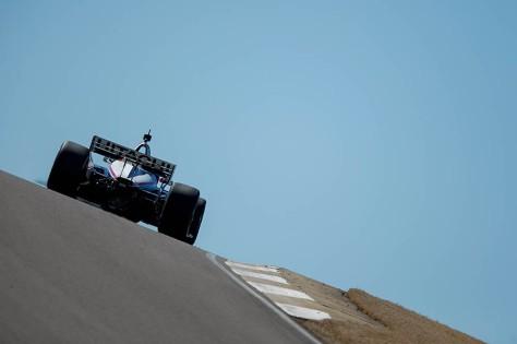Josef Newgarden, No. 2 Chevrolet de Team Penske, en la cuarta ronda de pruebas privadas de pretemporada de IndyCar, realizada el 23 de febrero en Barber (FOTO: Joe Skibinski/INDYCAR)
