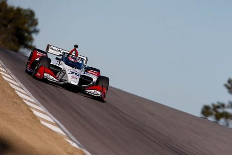 Takuma Sato, No. 30 Honda de Rahal Letterman Lanigan Racing, en la cuarta ronda de pruebas privadas de pretemporada de IndyCar, realizada el 23 de febrero en Barber (FOTO: Joe Skibinski/INDYCAR)
