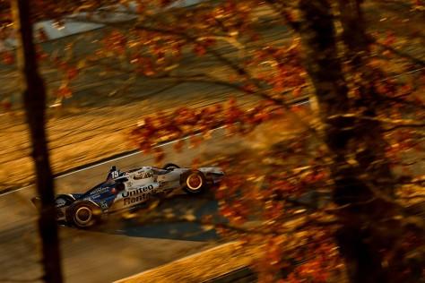 Graham Rahal, No. 15 Honda de Rahal Letterman Lanigan Racing, en la cuarta ronda de pruebas privadas de pretemporada de IndyCar, realizada el 23 de febrero en Barber (FOTO: Joe Skibinski/INDYCAR)