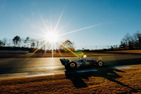 Scott McLaughlin, No. 3 Chevrolet de Team Penske, en la cuarta ronda de pruebas privadas de pretemporada de IndyCar, realizada el 23 de febrero en Barber (FOTO: Joe Skibinski/INDYCAR)
