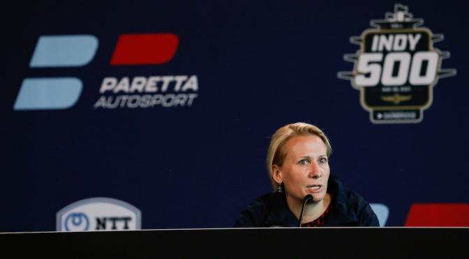 Paretta presenta patrocinio para Indy e iniciativas de empoderamiento femenino