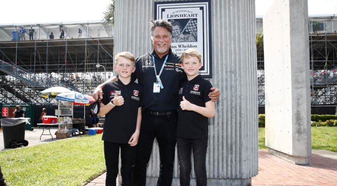 Los hijos de Dan Wheldon se unen a Andretti Autosport