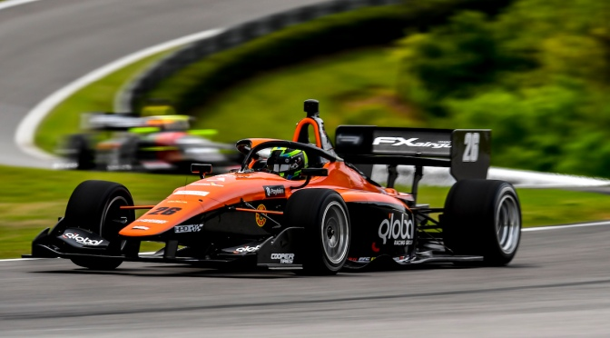 Lundqvist se impone en regreso de Indy Lights