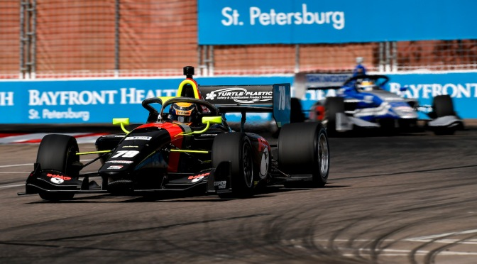 Indy Lights: Kirkwood y Malukas se adueñan de St. Petersburg